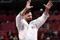"""<p>Biography: 23 years old</p> <p>Event: Men's kata (Karate)</p> <p>Quote: """"My family… WE DID IT!!!!!!!!! Thank you for always supporting my dream and for all the sacrifices you made for me to keep fighting.""""</p>"""