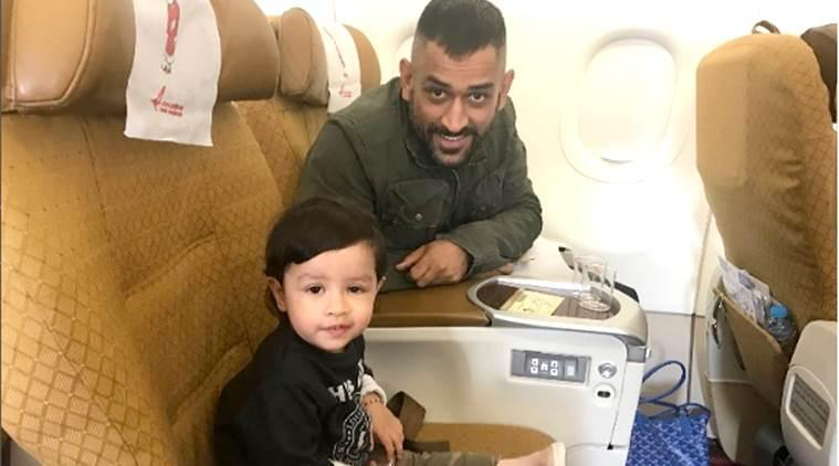MS Dhoni, MS Dhoni India, India MS Dhoni, MS Dhoni Ziva, MS Dhoni daughter, sports news, cricket, Indian Express