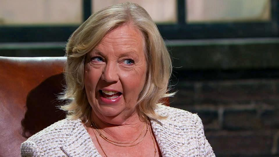 Deborah Meaden on Dragons' Den. (BBC)