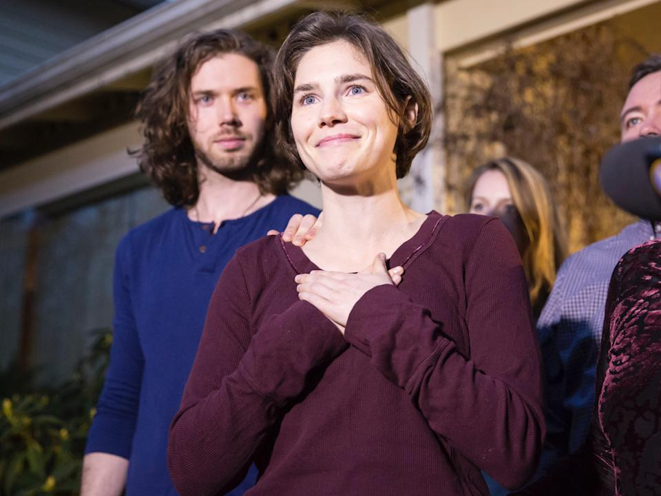 Amanda Knox shares life advice amid coronavirus pandemic (Getty Images)