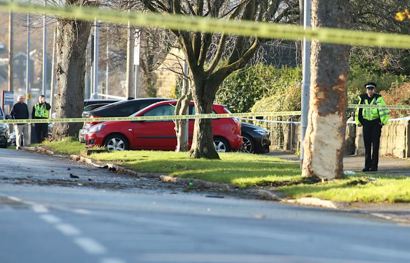 Five killed, including three children, after stolen auto crashes in Leeds