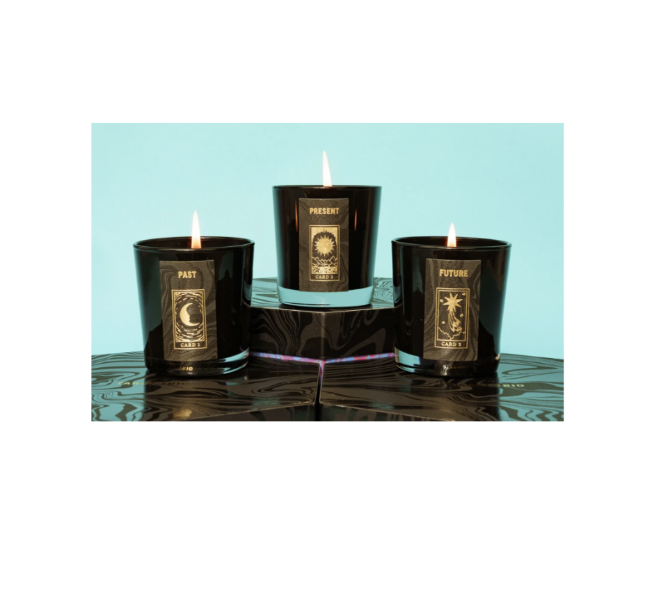 """<p><strong>Birthdate Co.</strong></p><p><strong>$115.00</strong></p><p><a href=""""https://go.redirectingat.com?id=74968X1596630&url=https%3A%2F%2Fbirthdate.co%2Fproducts%2Ftarot-trio&sref=https%3A%2F%2Fwww.cosmopolitan.com%2Fstyle-beauty%2Ffashion%2Fg37809095%2Fself-care-gift-ideas%2F"""" rel=""""nofollow noopener"""" target=""""_blank"""" data-ylk=""""slk:Shop Now"""" class=""""link rapid-noclick-resp"""">Shop Now</a></p><p>Have a pal who can't stop watching tarot readings on TikTok? Give them this epic tarot candle set. (Maybe they'll read yours as a thank you, too.)</p>"""