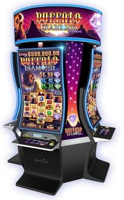 Aristocrat will debut its new Buffalo Diamond(TM) 10th Anniversary slot game in booth #1141 at G2E 2018 next week in Las Vegas.