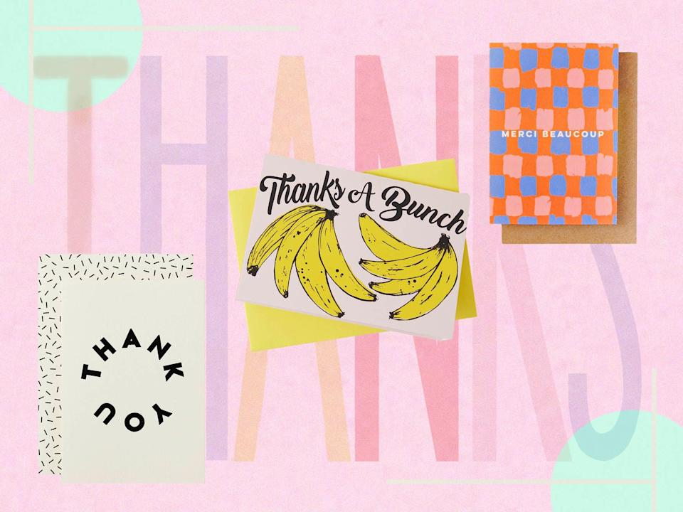 <p>Thank you cards improve the sender's wellbeing as well as making the recipient's day</p> (The Independent)