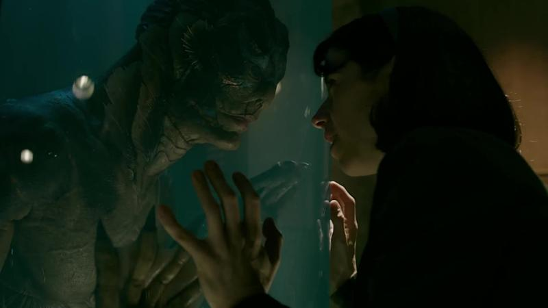 Sally Hawkins and Doug Jones in