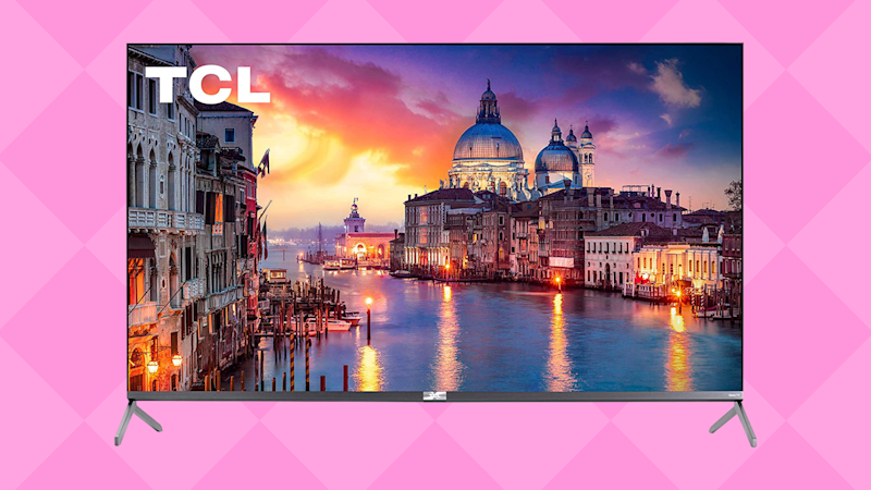 Save nearly 30 percent on this massive 4K TV! (Photo: TCL)