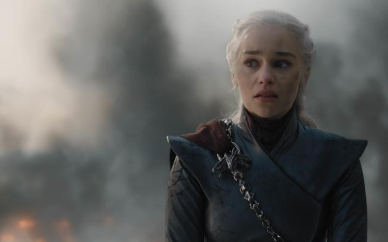 Emilia Clarke as Daenerys in Game of Thrones - Game of Thrones © 2019 Home Box Office, Inc. All rights reserved. HBO® and all related programs are the property of Home Box O