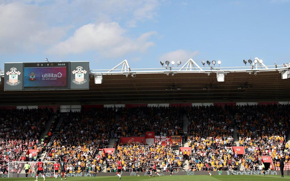 St Mary's. - WWFC/Wolves via Getty Images