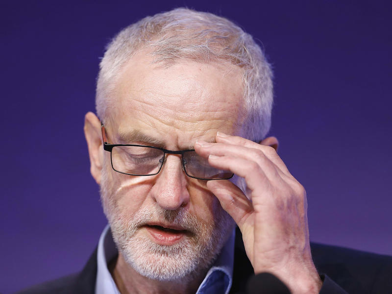 Corbyn has ruled out forming an alliance with the Greens to push back against the Tories in the general election: Reuters