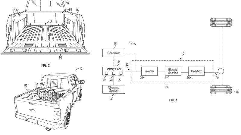 Will the electric Ford F-150 receive a clever, toolbox-shaped range extender?