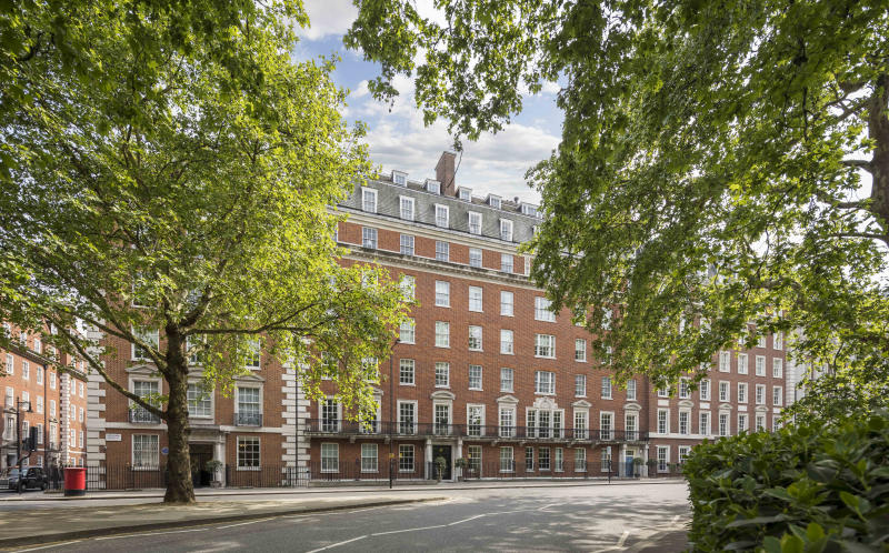 £25m Onassis Residence in Grosvenor Square.