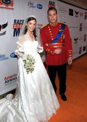A.B.S. by Allen Schwartz knockoff of Kate Middleton's wedding dress. Photo courtesy of CharityBuzz.com
