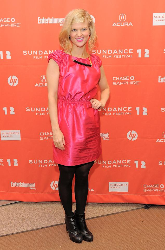"PARK CITY, UT - JANUARY 23:  Arden Myrin attends the ""Bachelorette"" premiere during the 2012 Sundance Film Festival held at Eccles Center Theatre on January 23, 2012 in Park City, Utah.  (Photo by Jemal Countess/Getty Images)"