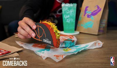Taco Bell's reignited partnership with the NBA for this year's NBA Finals not only grants fans the opportunity to score a free taco, but marks the highly anticipated return of the Flamin' Hot Doritos® Locos Tacos for a limited time.