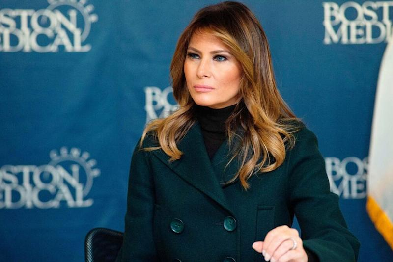 First Lady Melania Trump | JOSEPH PREZIOSO/AFP via Getty