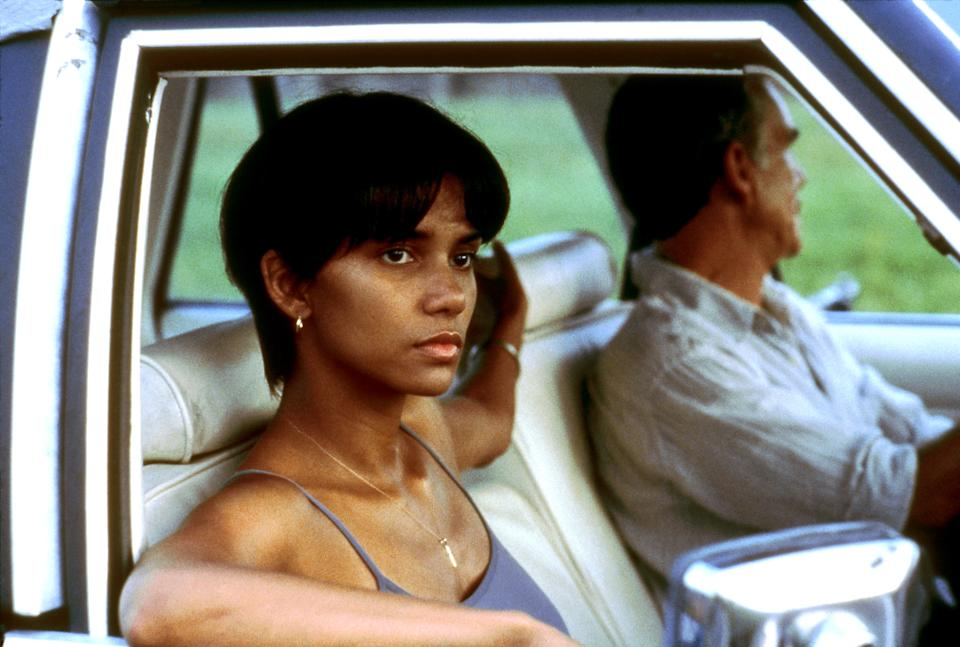 Berry and Billy Bob Thornton in the 2001 drama, 'Monster's Ball,
