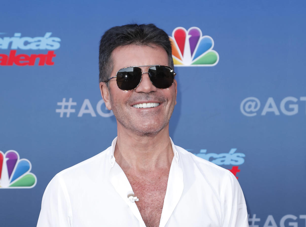 Simon Cowell has spoken on just how severe his bike accident could've been. (Photo by Tibrina Hobson/WireImage)