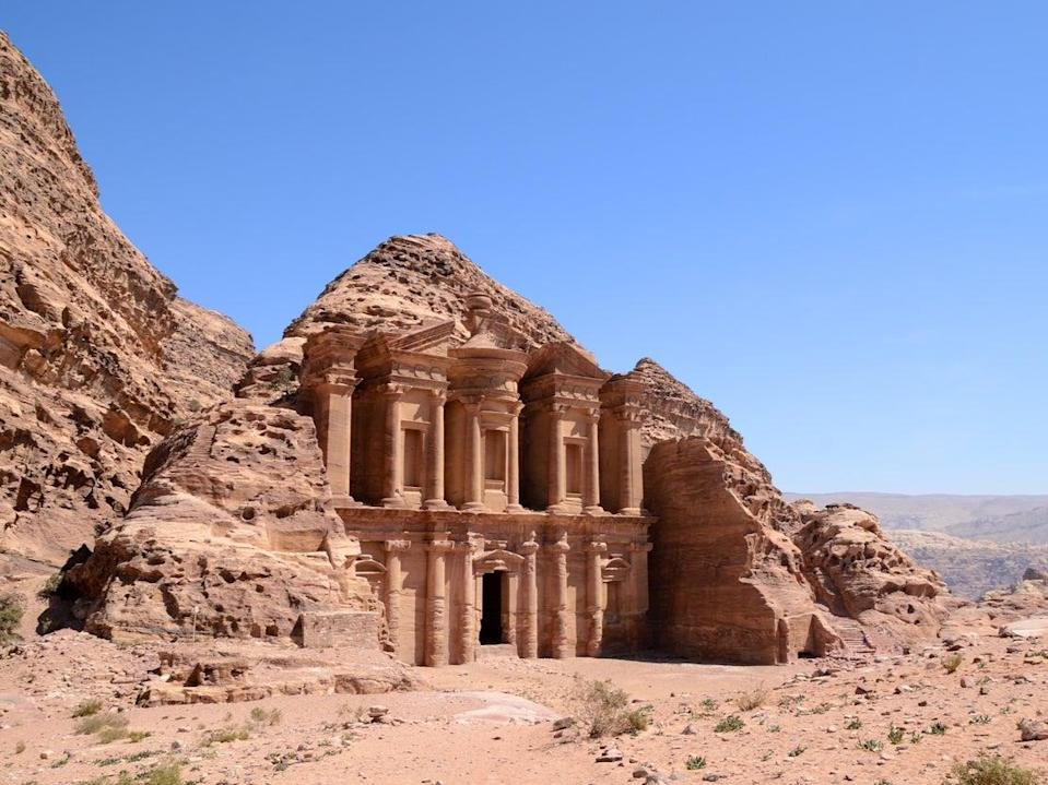 Petra was named number one destination (Getty Images/iStockphoto)