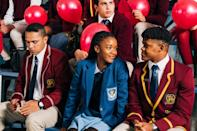 """<p>This Netflix original series from South Africa revolves around Puleng, a crafty 16-year-old on a mission to find her older sister who was abducted at birth. After following a lead that points her to an elite college, Puleng transfers to the academy in order to investigate whether or not the school's swimming star is actually her sister. While the coastal wealth of Cape Town is very different from the world of Manhattan, Parkhurst College will still give you major Constance Billard vibes. </p> <p><strong>Where to watch:</strong> <a href=""""http://www.netflix.com/title/81044547"""" class=""""link rapid-noclick-resp"""" rel=""""nofollow noopener"""" target=""""_blank"""" data-ylk=""""slk:Netflix"""">Netflix</a></p>"""