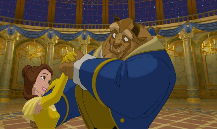 The animated 'Beauty and the Beast' (Photo: Disney)