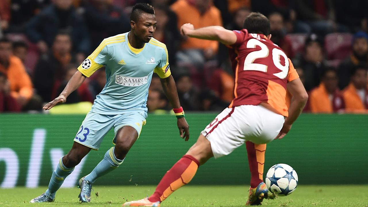 The Ghanaian turned in a fine display, but was not enough as the Scottish champions progressed to the next round of the Champions League group stage