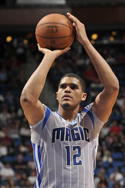 Tobias Harris improves his shot selection. (Getty Images)
