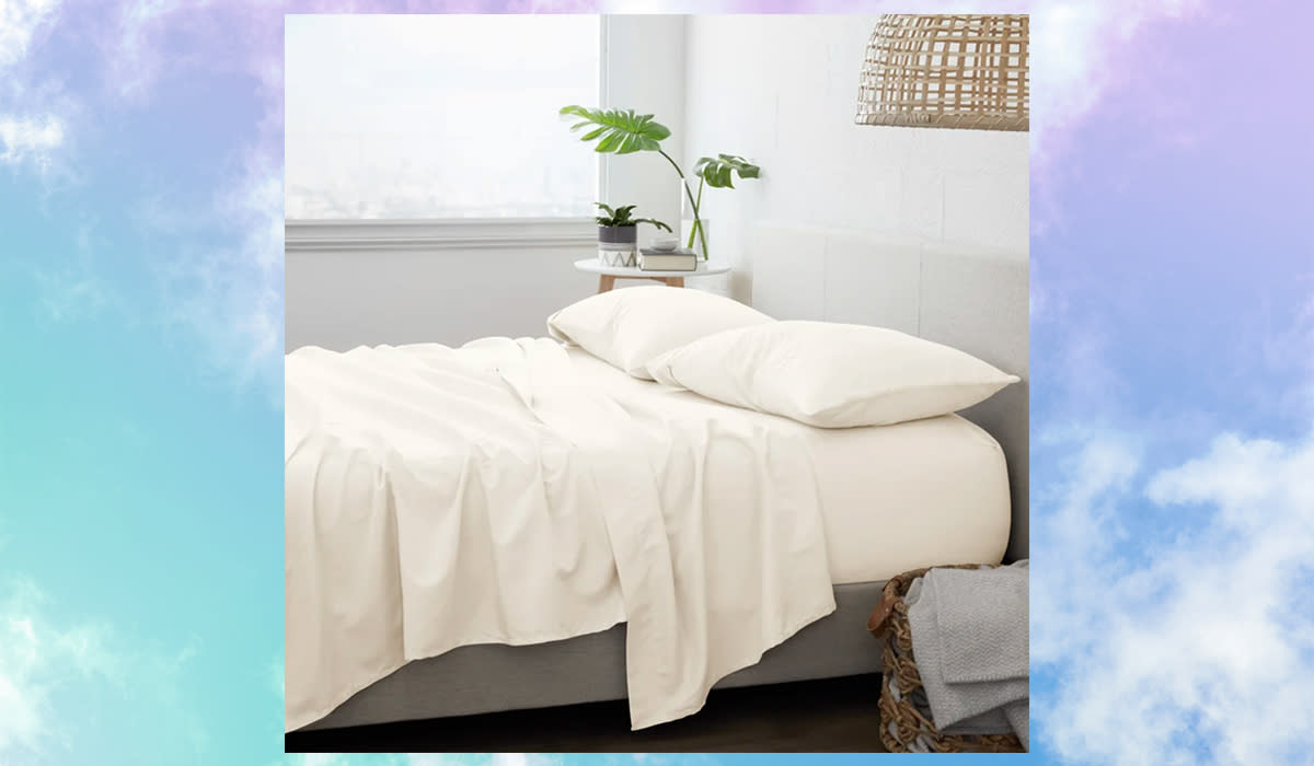 Beautiful sheets for 80 percent off?! What a dream! (Photo: Wayfair)