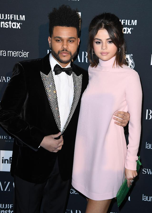 The Weeknd and Selena Gomez stepped out in NYC in September. (Photo: Getty Images)