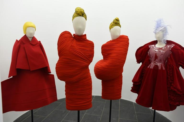 Japanese fashion designer Rei Kawakubo is being honored at New York's Metropolitan Museum of Art with a show spanning decades of her creations