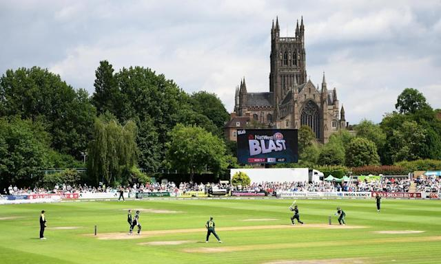 "<span class=""element-image__caption"">Worcestershire v Nottinghamshire in the NatWest T20 Blast. Twenty20 can save the English county game, writes Mike Stein. </span> <span class=""element-image__credit"">Photograph: Gareth Copley/Getty Images</span>"