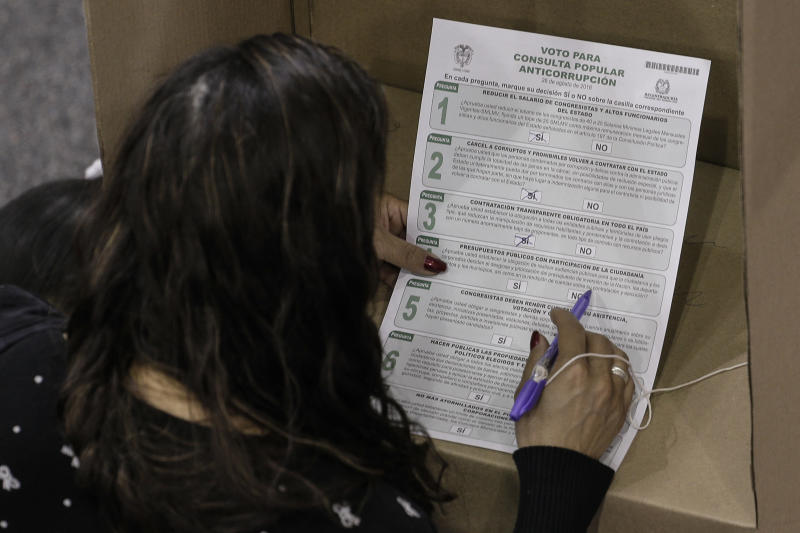 Colombia Anti Corruption Referendum Comes Up Shy On Votes