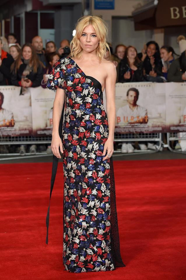 """<p>Speaking of getting clothes first, Young put Miller into Marc Jacobs SS16 for the London premiere of her new film <i>Burnt</i>. The 33-year-old actress told us of her transformation, """"As you get older, your style does evolve… I'm just drawn to different things. I suppose I do still love some bohemian clothes and I think it kind of suits me, but I am just more into tailoring lately.""""</p><p><i>Photo: Getty Images</i></p>"""