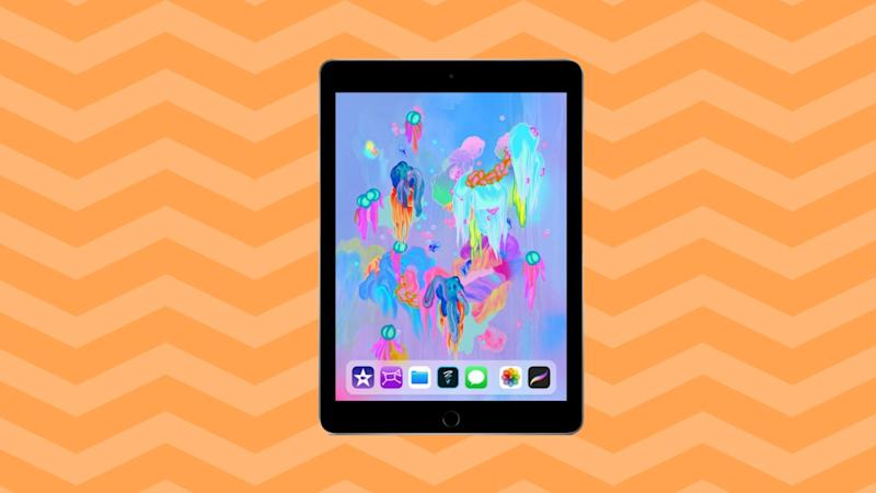 The Apple iPad (128GB) is now on sale for only $330. (Photo: Amazon/Yahoo Lifestyle)