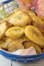 """<p>These crispy treats make the perfect after-work snack!</p><p><em><a href=""""https://www.aspicyperspective.com/perfect-baked-plantains/"""" rel=""""nofollow noopener"""" target=""""_blank"""" data-ylk=""""slk:Get the recipe from A Spicy Perspective >>"""" class=""""link rapid-noclick-resp"""">Get the recipe from A Spicy Perspective >></a></em></p>"""