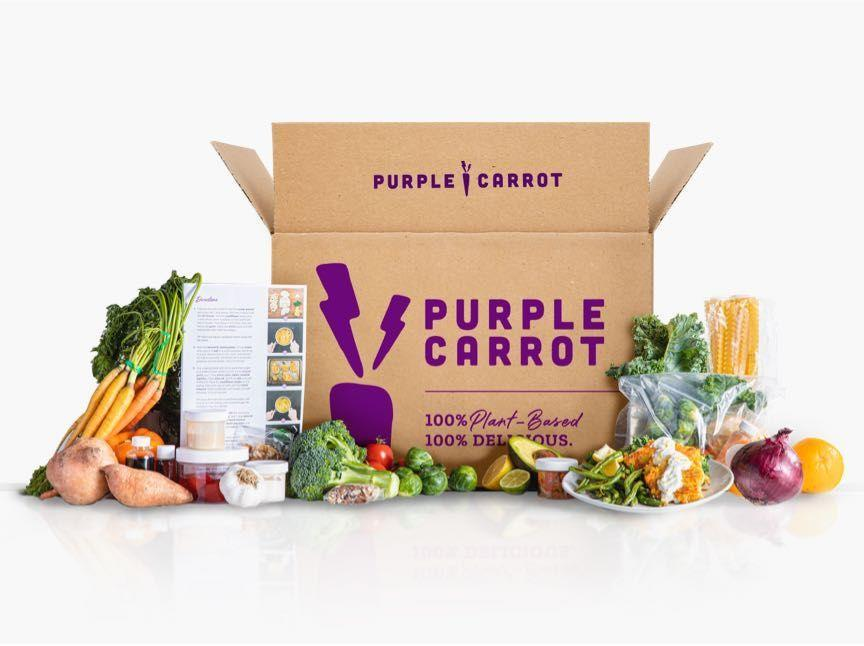 """<p>purplecarrot.com</p><p><strong>$71.94</strong></p><p><a href=""""https://go.redirectingat.com?id=74968X1596630&url=https%3A%2F%2Fwww.purplecarrot.com%2Fgifts%2Fstep1&sref=https%3A%2F%2Fwww.prevention.com%2Flife%2Fg35772381%2Fgifts-for-mom-from-son%2F"""" rel=""""nofollow noopener"""" target=""""_blank"""" data-ylk=""""slk:Shop Now"""" class=""""link rapid-noclick-resp"""">Shop Now</a></p><p>Whether she's a devout vegan or simply curious about eating more plants, she'll love Purple Carrot's plant-based meal kits, which are delicious <em>and</em> come with everything she needs for each dish. </p>"""