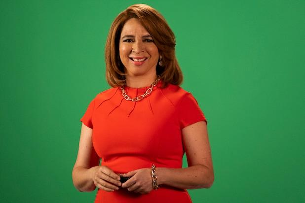 "Maya Rudolph in ""Sarah Cooper: Everything's Fine"""