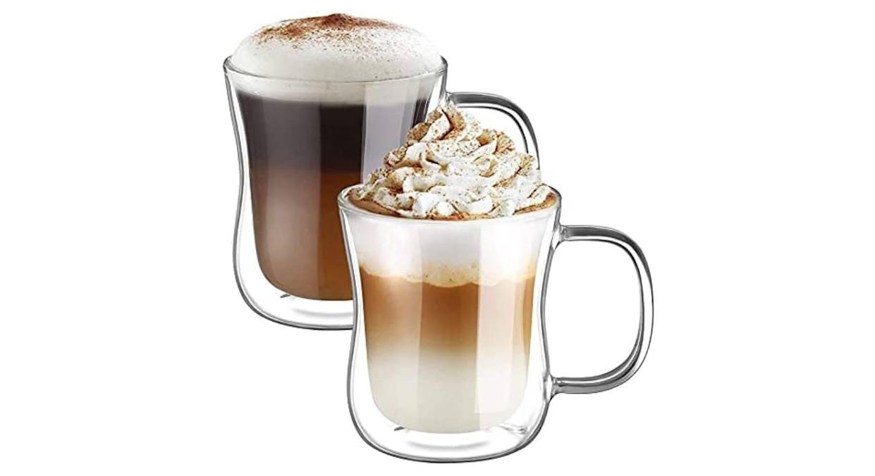 Ecooe Double Walled Coffee Glasses