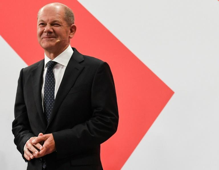 Olaf Scholz's Social Democrats made a strong comeback from their 2017 low point (AFP/Christof STACHE)