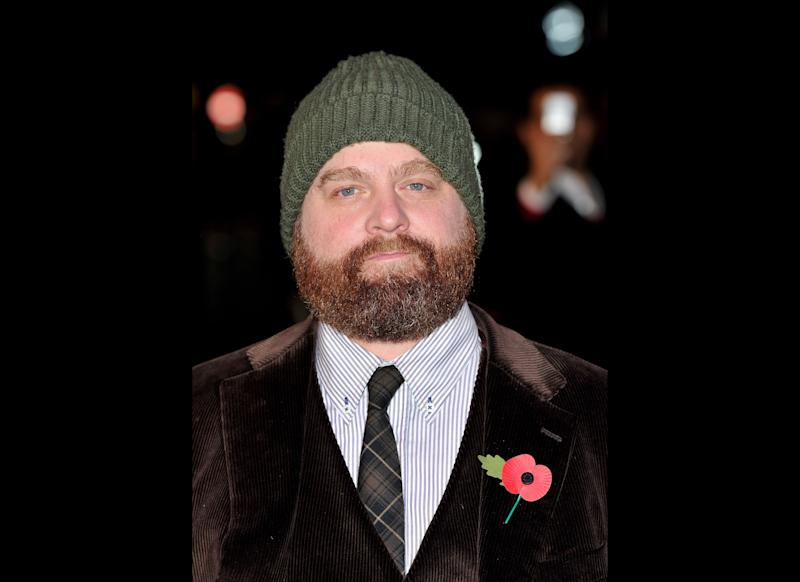 Zach Galifianakis attends the 'Due Date' Premiere at The Empire Cinema, Leicester Square on November 3, 2010 in London, England. (Photo by Gareth Cattermole/Getty Images)