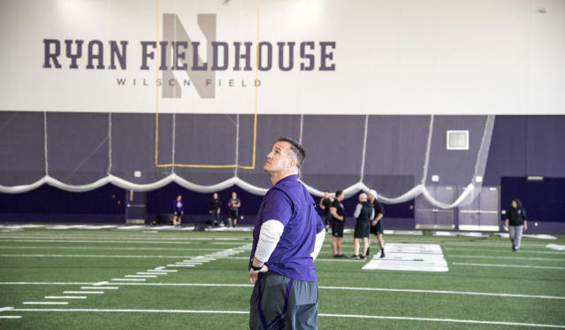 Northwestern's Ryan Fieldhouse and Walter Athletics Center. (Northwestern Athletics)