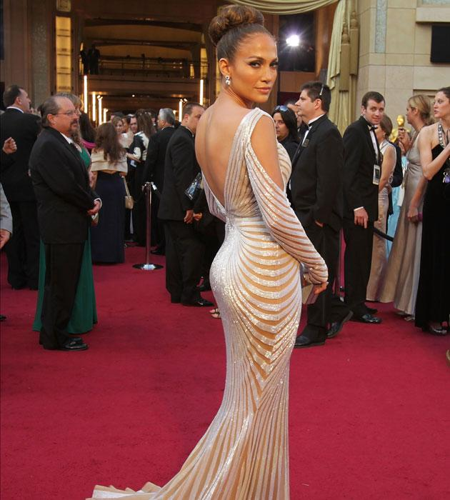 Actress Jennifer Lopez arrives at the 84th Annual Academy Awards held at the Hollywood & Highland Center on February 26, 2012 in Hollywood, California. (Photo by Jeff Vespa/WireImage)