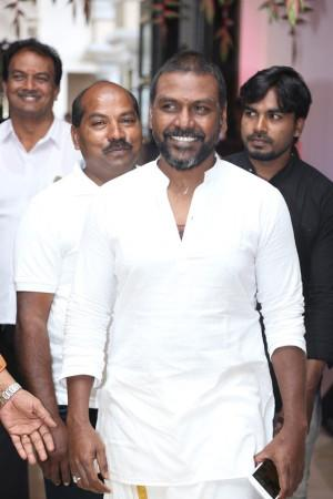Raghava Lawrence at soundarya rajinikanth Vishagan Vanangamudi's wedding