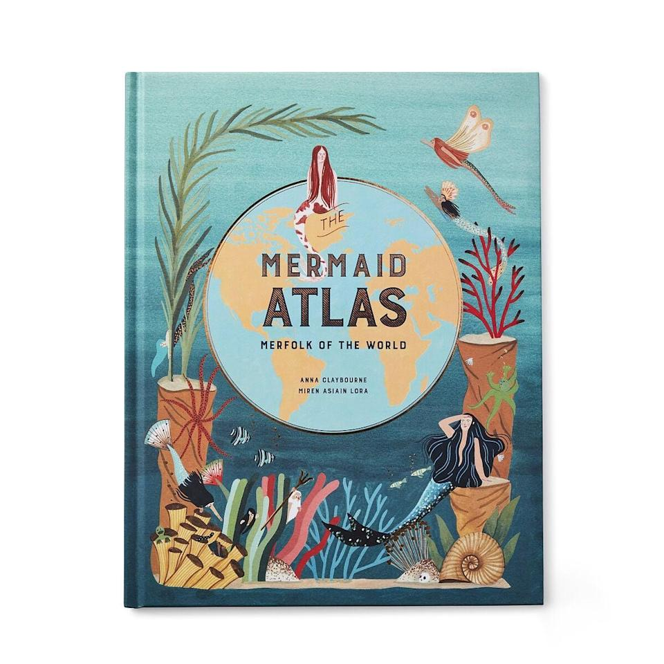 <p>The <span>Mermaid Atlas</span> ($20) filled with stories about mermaids from all the seven seas.</p>