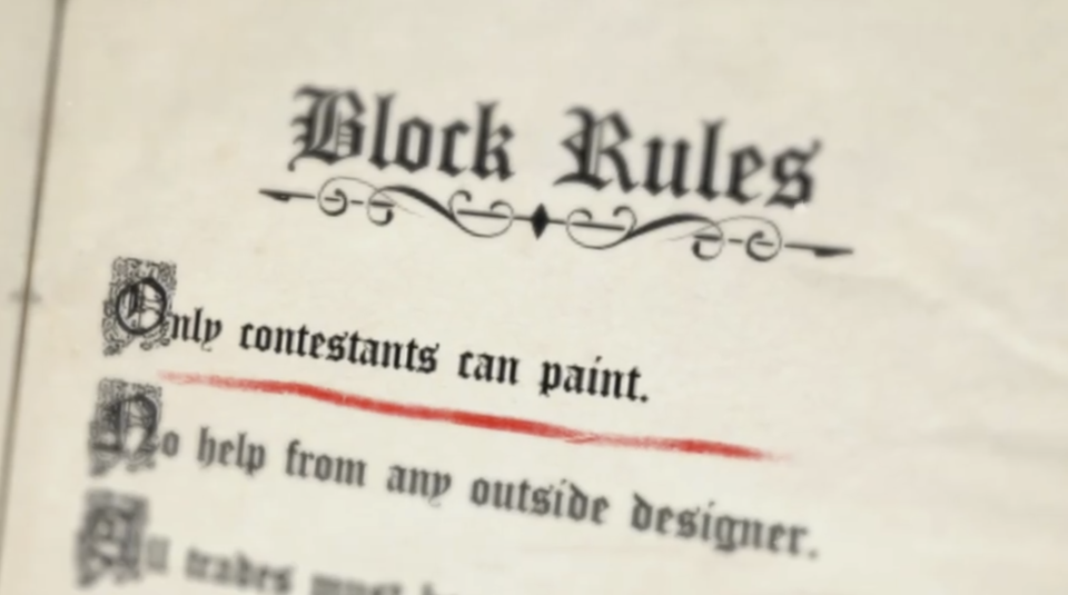 The Block bible rules