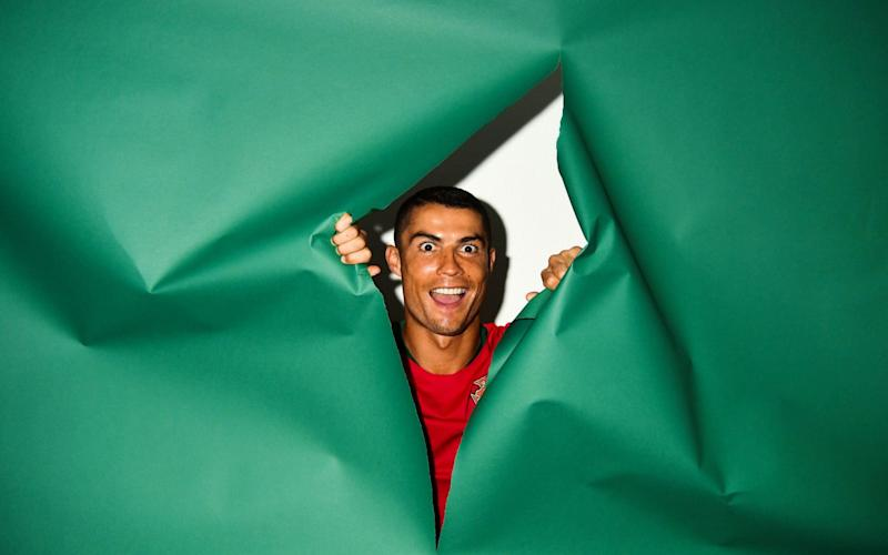 Cristiano Ronaldo poses for a portrait ahead of the World Cup in Russia - FIFA
