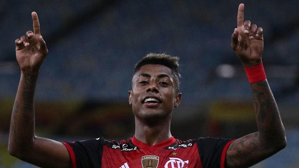 Bruno Henrique mudou o patamar do Flamengo. | Buda Mendes/Getty Images