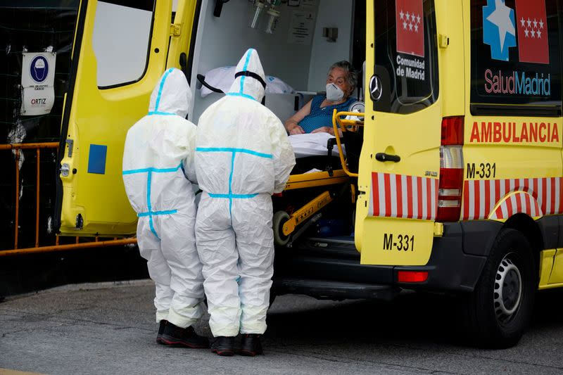 Spain defends pandemic response as case numbers overtake Britain