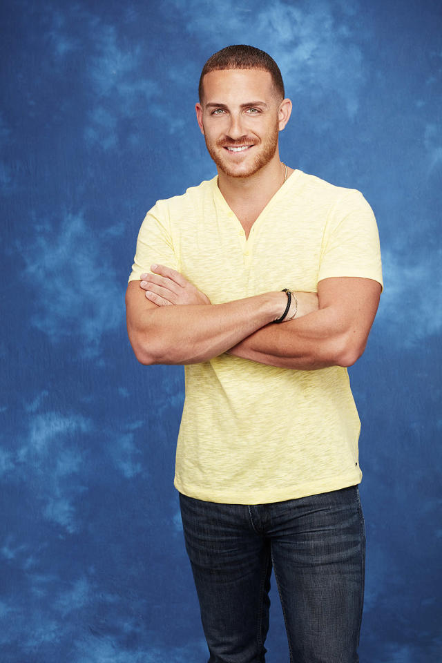 <p>This will be Vinny's second time in Paradise, after falling for — and then getting dumped by — Izzy last season.<br><br>(Photo: Craig Sjodin/ABC) </p>