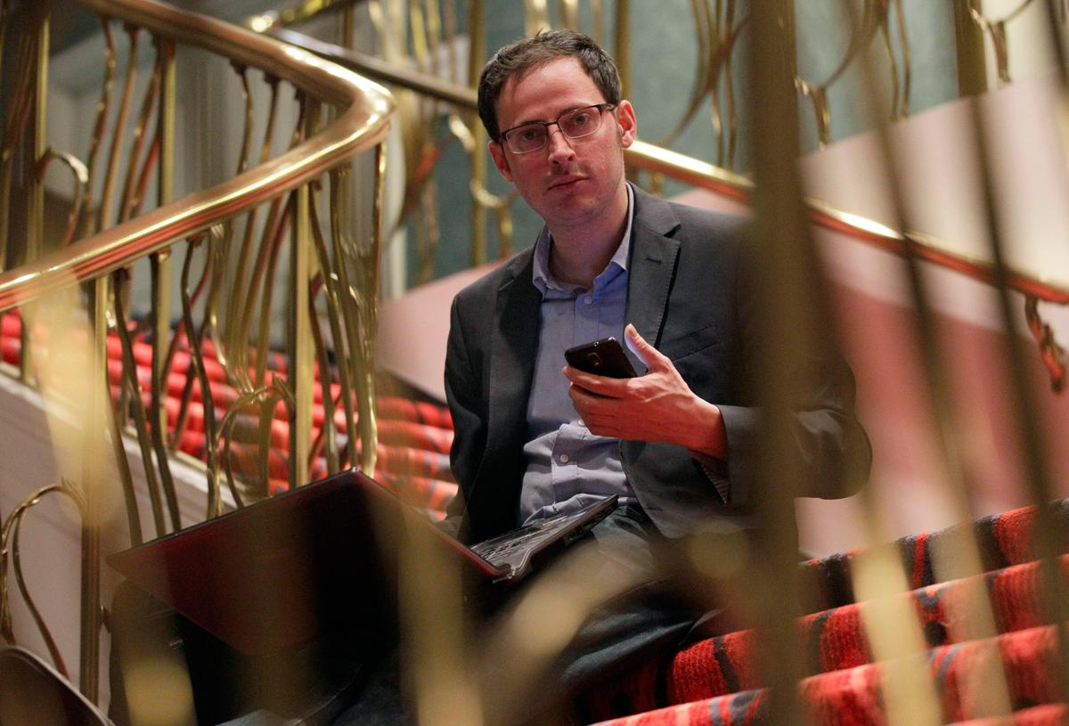 Nate Silver, the New York Times polling guru, drew the ire of conservatives during the campaign for his prediction that President Barack Obama would win the 2012 Electoral College vote. Silver correctly predicted the result in every state on election night, infuriating the GOP. (Nam Y. Huh/AP Photo)
