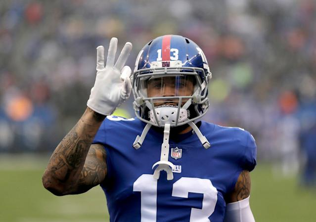 The Browns made the biggest move of the offseason in trading for Odell Beckham Jr. (AP)